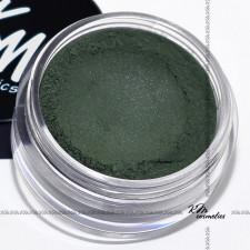 Тени для глаз зеленые Сатиновая коллекция