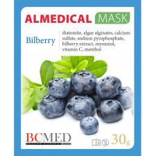 """Альгинатная маска """"Черника"""" - Almedical Mask Bilberry"""