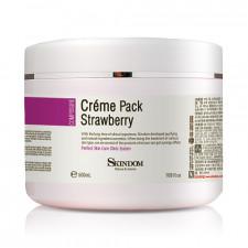 Крем-маска с экстрактом клубники для лица, шеи и зоны декольте Cream Pack Strawberry