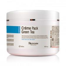 Крем-маска с экстрактом зеленого чая