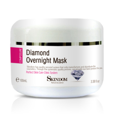 Алмазная крем-маска для лица
