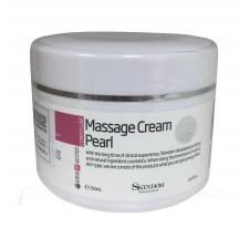 Массажный крем для лица с жемчугом Massage Cream Pearl