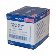Игла инъекционная 18G (1,2 х 40 мм)