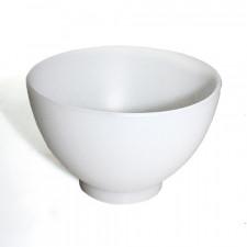 Миска белая био-силикон